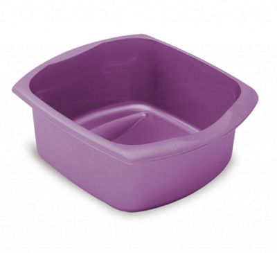 Addis Large 9.5L Purple Rectangular Bowl