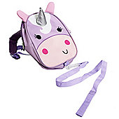 Red Kite Pink Unicorn Toddler Back Pack with Rein