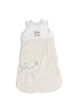 OBaby B is for Bear Cream 2.5 Tog Sleeping Bag - 6-18 Months