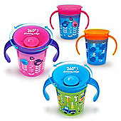 Munchkin Miracle Deco Baby Trainer Cup│6Oz/177ml│Colours & Designs Assorted│New