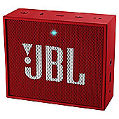JBL Go Portable Rechargeable Bluetooth Speaker - Red