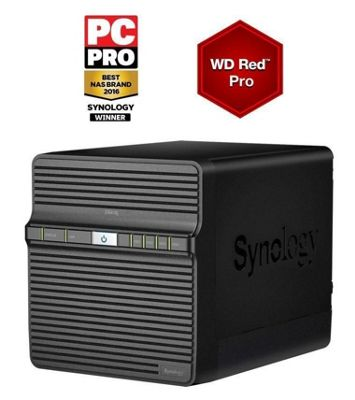 Synology DS416J/32TB-RED PRO 4-Bay32TB(4x8TB WD RED PRO) Network Attached Storage Solution