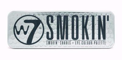 w7 Smokin Eye Shadow Colour Palette 12 x 1.3g