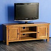 Surrey Oak 120cm TV Stand - Rustic Oak