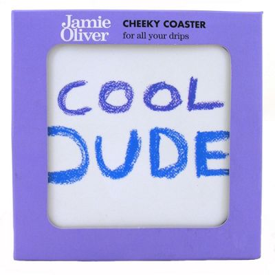 Churchill Jamie Oliver Cool Dude Cheeky Coaster