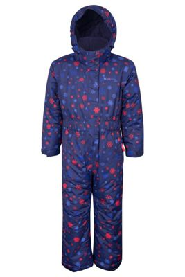 Mountain Warehouse Cloud Printed Kids All in One Snowsuit ( Size: 3-4 yrs )
