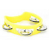 Tiger Yellow Miniature Kids Tambourine