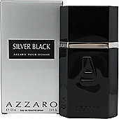 Azzaro Silver Black Eau de Toilette (EDT) 100ml Spray For Men
