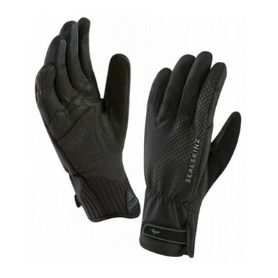 SealSkinz All Weather XP Cycle Gloves Black/Black Size: XL