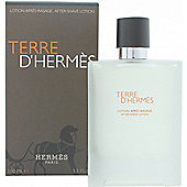 Hermes Terre D'Hermes Aftershave Lotion 100ml Splash For Men