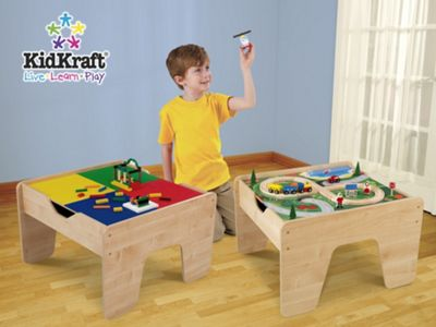 KidKraft Activity Table with Lego Boards
