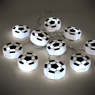 Buy Football 10 Led Battery Operated String Lights White From Our Novelty Amp Decorative Lighting