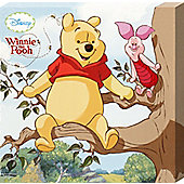 Winnie The Pooh Walt Disney's Pooh & Piglet Up A Tree Canvas Print