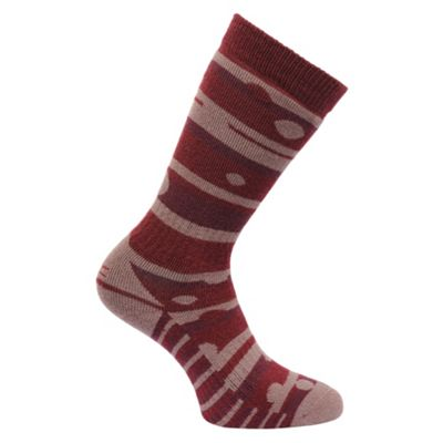 Regatta Wmns Welly Sock DkPimt/TwiMa 3-5