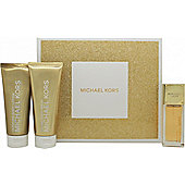 Michael Kors Sexy Amber Gift Set 50ml EDP + 100ml Body Lotion + 100ml Shower Gel For Women