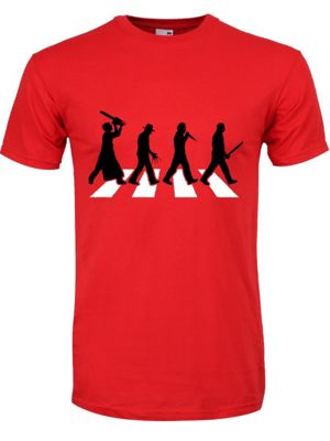 Horror Road Red Men's T-shirt
