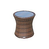 Tall Round Side Table in Chocolate Mix (54 dia)