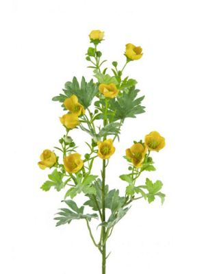 Artificial - Buttercup Spray - Yellow