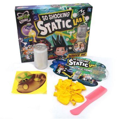 Weird Science So Shocking Static Lab Set