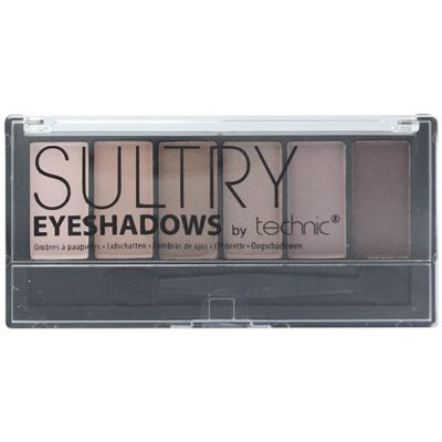 Technic Sultry 6 Colour Eyeshadow Palette - Rosebud