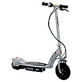 Razor E100 Electric Scooter, Silver