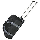 Tesco 2 Wheel Black Small Holdall