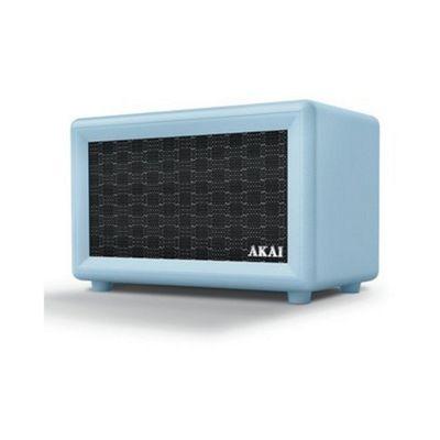 Akai Retro Bluetooth Speaker Blue