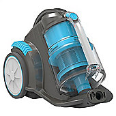 Vax C85-MZ-PE Mach Zen Pet Bagless Cylinder Cleaner - Grey/Blue