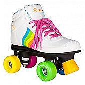 Rookie Forever Rainbow Quad Roller Skates - White/Multi - White
