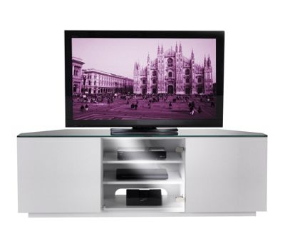 UK-CF Cityscape Milan TV Stand - White