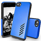 Orzly iPhone 7, iPhone 8 Grip-Pro Case - Blue