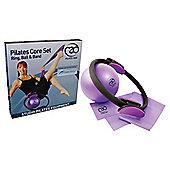 Pilates Mad Pilates Ring, Band & Ball Kit