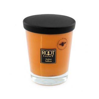 Large Veriglass Amber Saffron Scented Candle Living Room Fragrance
