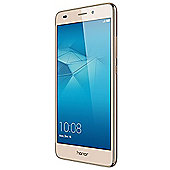 Honor 5C Smartphone Gold (5.2 inch FHD, Metal, Touchscreen, DualSIM, MicroSD, Octa-Core, 2GB RAM, 16GB ROM, 13MP rear camera, 8MP front camera,