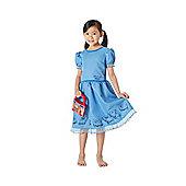 Roald Dahl Matilda Fancy Dress Costume - Blue