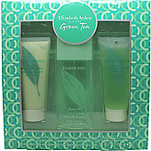 Elizabeth Arden Green Tea Gift Set 100ml EDP + 100ml Body Lotion + 100ml Shower Gel For Women