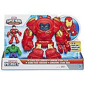 Playskool Heroes Marvel Super Hero Adventrues Stark Tech Armor With Tony Stark Figure