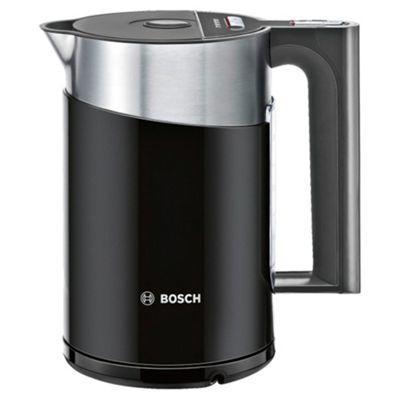 Bosch Styline 1.5L Rapid Boil Jug Kettle - Glossy Black