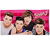 Union J 'Boyz' Printed Beach Towel