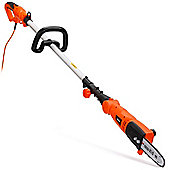 VonHaus 750W Pole Chainsaw with Extendable Pole Length