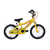 "Professional Spider 16"" Wheel Boys Bike Yellow"