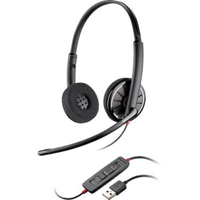 Plantronics Backwire C320 Binaural Head-band Black headset