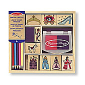 Wooden Princess Stamp Set - Melissa & Doug