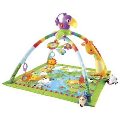 Fisher-Price Rainforest Melodies N Lights Deluxe Gym