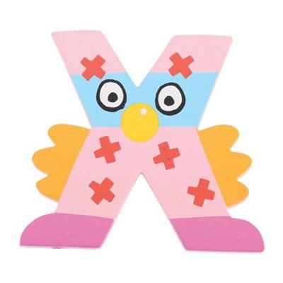 Tatiri Crazy Bird Letter X (Pink)
