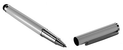 eKit Stylus with Pen for iPad 2/3/4/Air -Silver