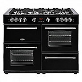 Belling 444444145 Farmhouse 110DFT Range Cooker - Black