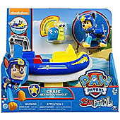 PAW Patrol Sea Patrol - Chase's Transforming Vehicle + Bonus Sea Friend