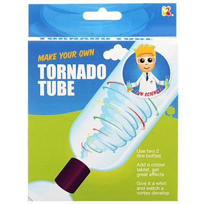 Keycraft Make Your Own Tornado Tube Science Mini Kit