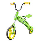 AEST Foldable Balance Bike for Kids age 3-5 Green